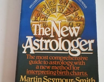 The New Astrologer - vintage 1981 astrology book