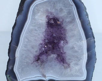 AMETHYST CATHEDRAL AGATE unique and beutifull