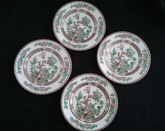"Vintage ""Bengal Tree"" China Luncheon Plate"