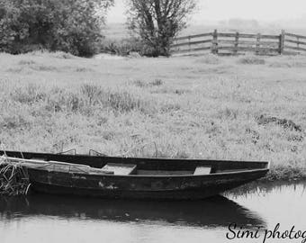 Photo print 'Boat' 50% of the profit will go to homeless/neglected animals