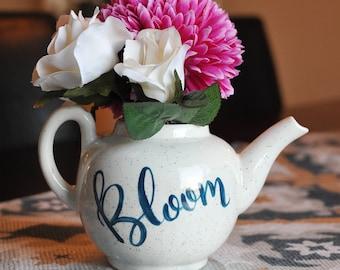 Hand Painted Ceramic Flower Pot