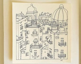 Naples illustration