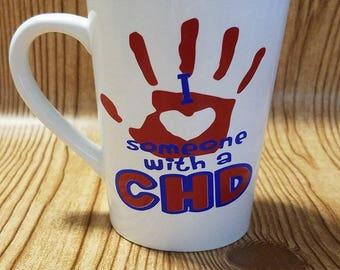 I Love Someone With a CHD Mug