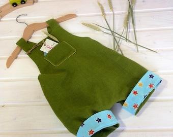 green overalls