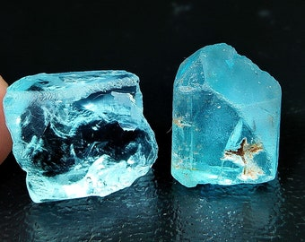 41.00 Natural Blue Topaz Rough Stone