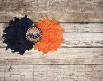 Houston Astros headband/baby houston astros/houston astros newborn/newborn astros fan