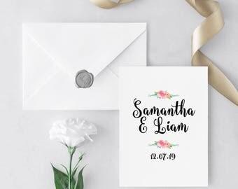 Garden Party- UK Wedding Invitation