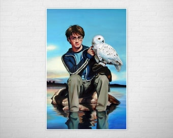 Harry Potter Owl Poster