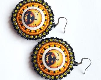 Jack O'Lantern Earrings