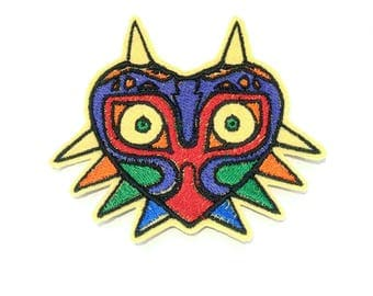 Majora's Mask The Legend of Zelda embroidered iron on patch