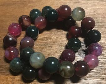 Beautiful Berry Bracelet Stack
