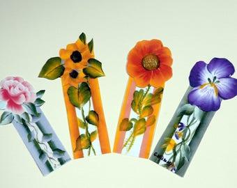 Flowers In Bloom Book Marks