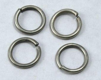 15mm Antique Silver 14 Gauge Jump Ring #RJF043