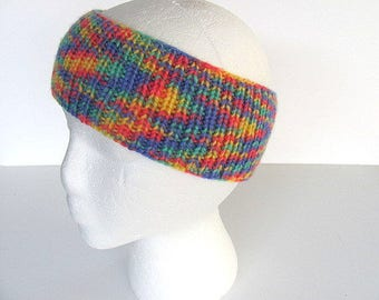 ON SALE Rainbow Head Band Ear Warmer Free US Shipping