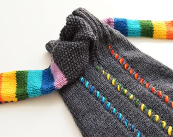 we knit made to measure pet dog sweaters jumpers - other colors are possible