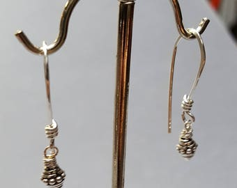 Sterling Silver Dangle Earrings 3