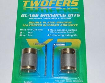Aanraku Twofers – 3/4″ ULTRA Fine Grinder Bits – 600 Grit ULTRA Fine // Includes 2 BITS // fits most grinders