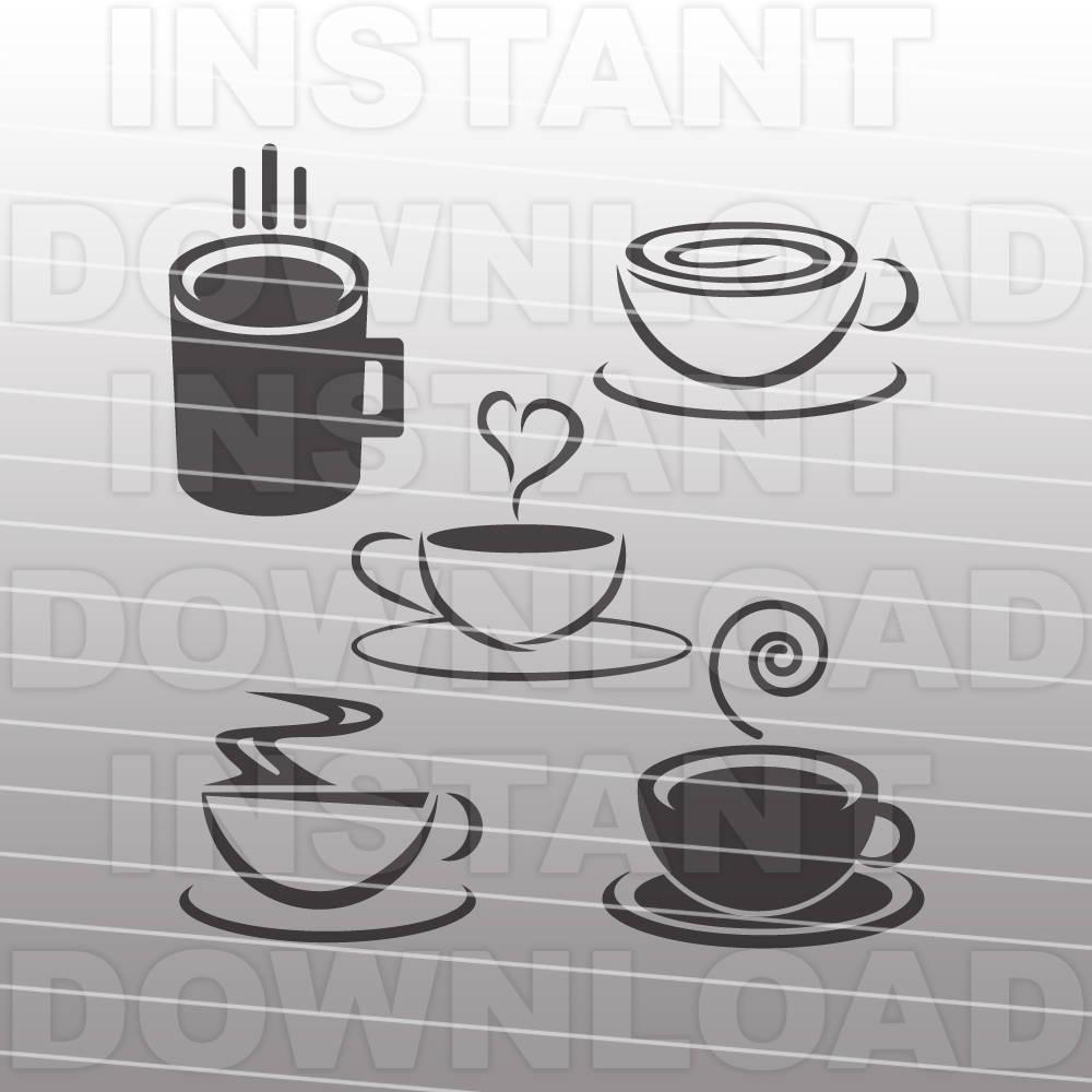 Download Coffee SVG Bundle,Coffee Cup SVG File,Coffee Mug SVG File ...