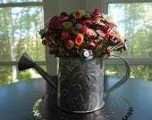 Watering Can Button Bouquet