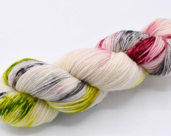 Rose, Hand Dyed Sock Yarn - In Stock