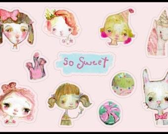 So Sweet - sticker sheet