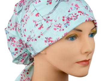 Surgical Scrub Cap - Surgical Tech Hats - Large - Fabric - Enchanted