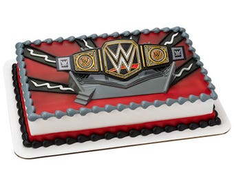 WWE Cake Decorating Topper Kit! NEW! Birthday Supplies