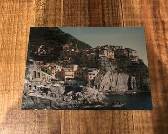 Cinque Terre, Italy 10x7 photo on metal