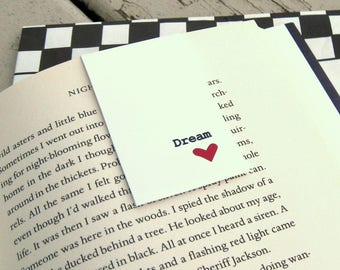 Dream Magnetic Bookmark