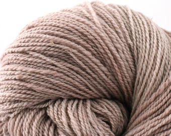 Mohonk Light Hand Dyed fingering weight NYS Wool 550yds 4oz Oatmeal Bath