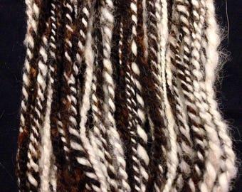 Yarn Handspun Jacob Sheep Wool Yarn
