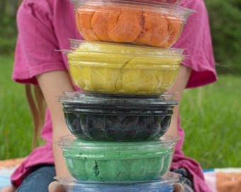Play Dough Color of Your Choice, One Pound in Eco-Friendly Container