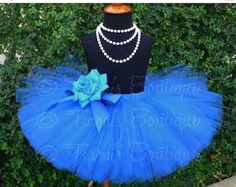 "SUMMER SALE 20% OFF Girls Tutu Skirt - 10"" Sewn Tutu - Ready to Ship - sizes Newborn to 5T - White, Yellow, Orange, Purple, Red, Blue, Pink,"