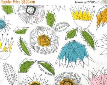 SALE - Crystal Garden - IKEA Smaborre Cotton Fabric