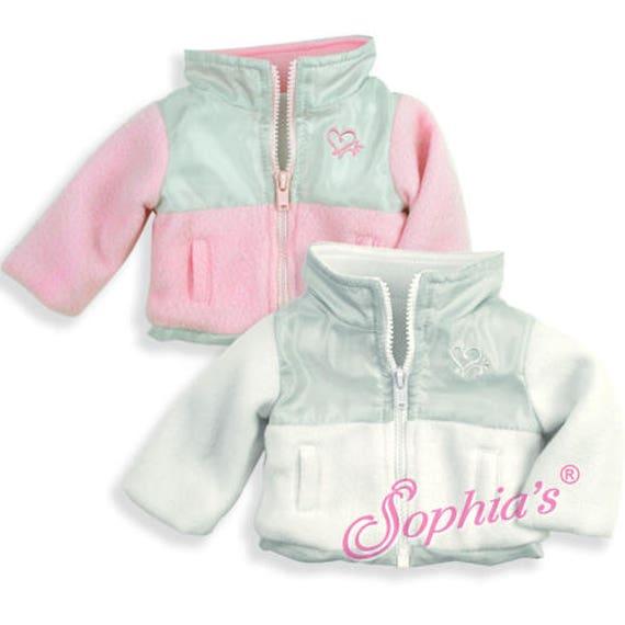 Fleece & Nylon Jacket - 18 Inch Doll Clothes