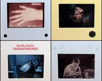 50 Vintage 35mm Slides - Science - Medicine - film slides - photo slides - medical laboratory scientist grab bag