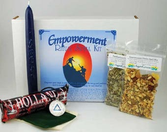 Empowerment Spell Boxed Ritual Kit-Spells for Love, Spells that work, spell kits, altar kits, witchcraft spells, witch spells,