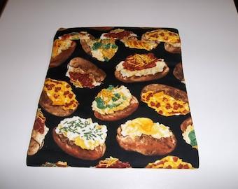 Microwave, Baked Potato Bag, Potato Sack, Microwave Potato Bag, Kitchen Utensil, Handmade, ALL Cotton