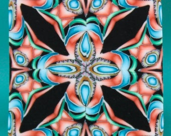 Polymer Clay Square Kaleidoscope Cane -'Dream a Little Dream' series (50ee)