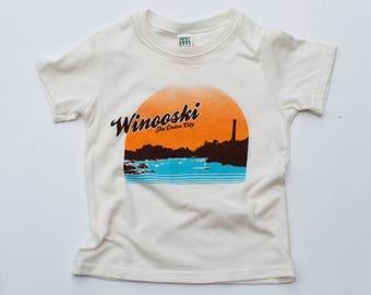 Winooski Vermont Kids Tee tshirt