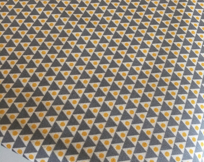 Florabelle by Joel Dewberry, Fabric Shoppe Fabric by the Yard, Mustard Gray Andes in Tucson, Choose Your Cut