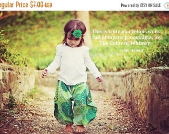 SALE Harem Pants Sewing Pattern/Tutorial by Whimsy Couture 3m through 5t PDF