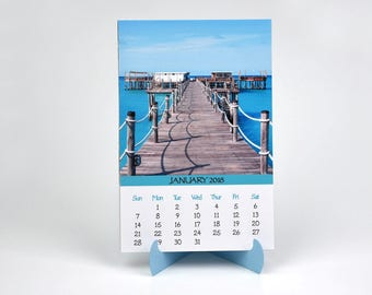 2018 Photo Calendar with Folder and Stand - Beaches