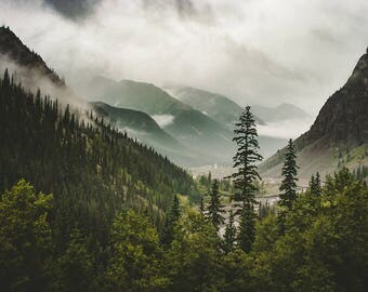 Nature Photography Mountain Range Epic Scenery Mountain Photography Colorado Wall Art Mountain Bedroom Forest Print Rocky Mountains