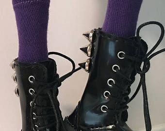 Violet Tall Socks...For Blythe...