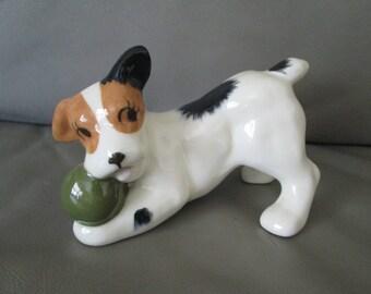Vintage Jack Ruussell Pup