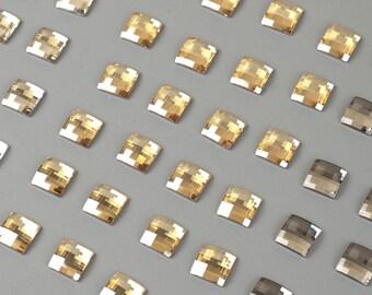 SWAROVSKI crystals 12mm chessboard flat back lot clearance sale
