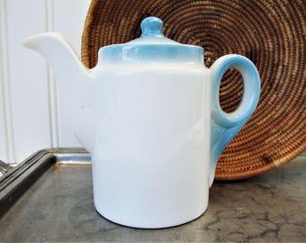vintage teapot syracuse restaurant china inidvidual sky blue