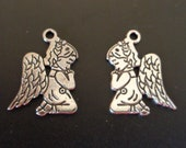 Praying Angel Charm - Christian/Insirational Charm - low shipping