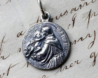 Antique French St Anthony Medal